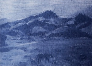 "Brazilian Landscape, 5 x 4"""