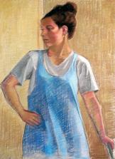 Irene, Pastel, 2009
